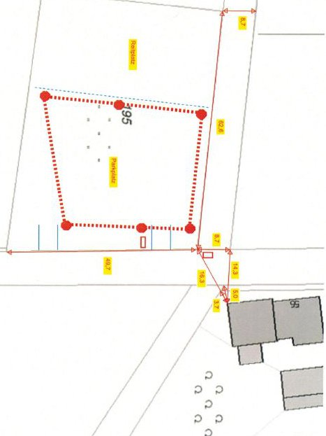 Baustellenskizze Horizontalbohrung sketch HDD drilling © TERRA AG, Reiden, Switzerland