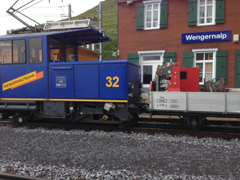Wengernalpbahn, railway Wengernalp © TERRA AG, Reiden, Switzerland