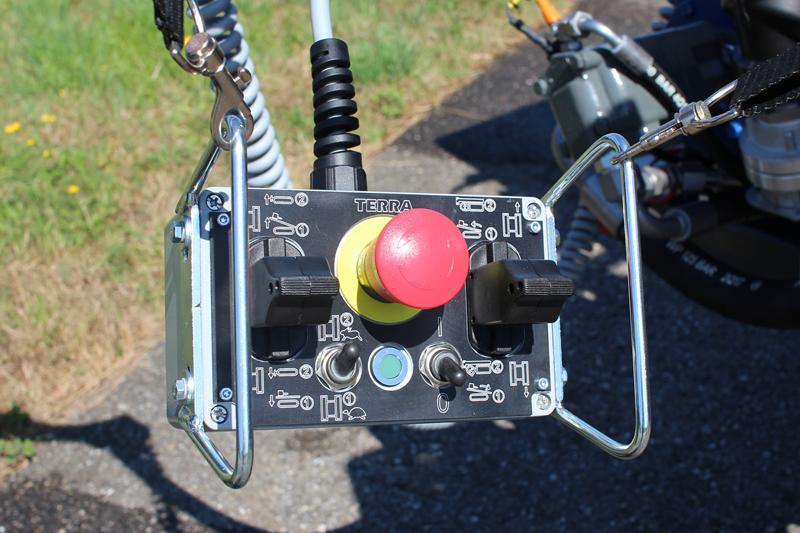Fahr-Fernsteuerung für HDD Spülbohranlagen