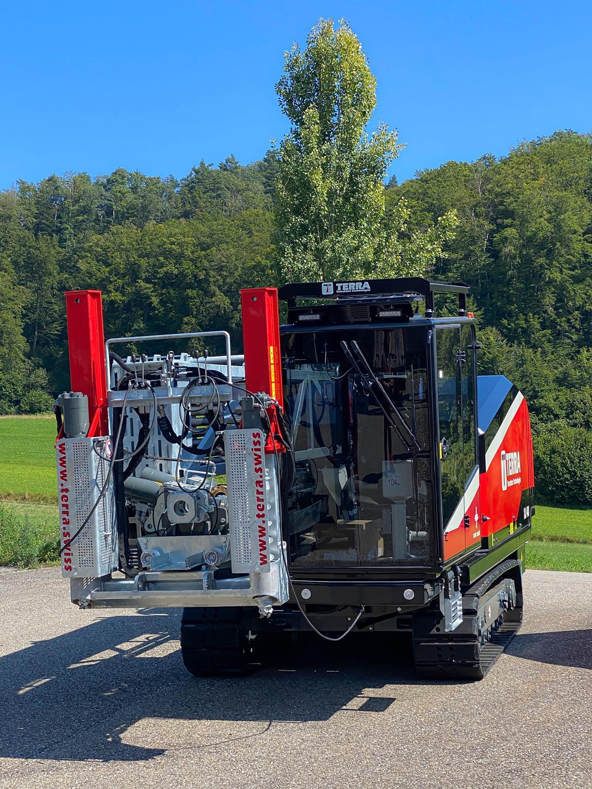 TERRA-JET DJ 40 - Kraftpaket mit 175 PS