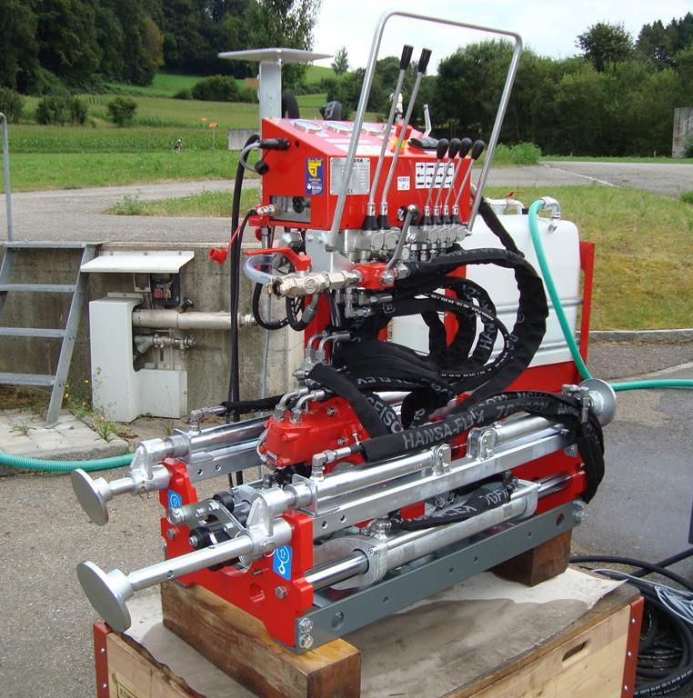 Grubenbohranlage MINI-JET MJ 1600 - Höchstleistung auf kleinstem Raum