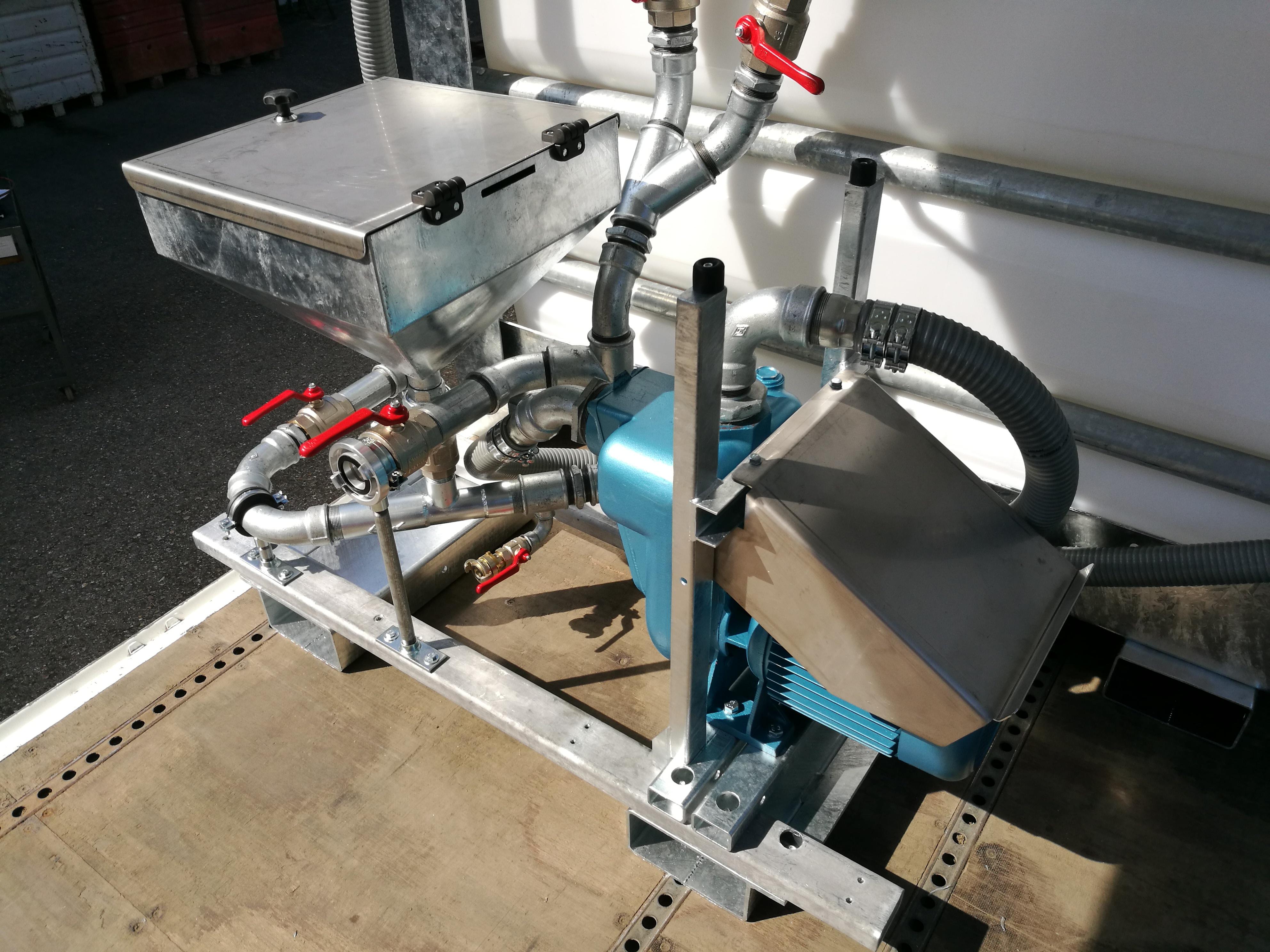 Mischstation MS 850e - elektrischer Antrieb mit höchster Effizienz