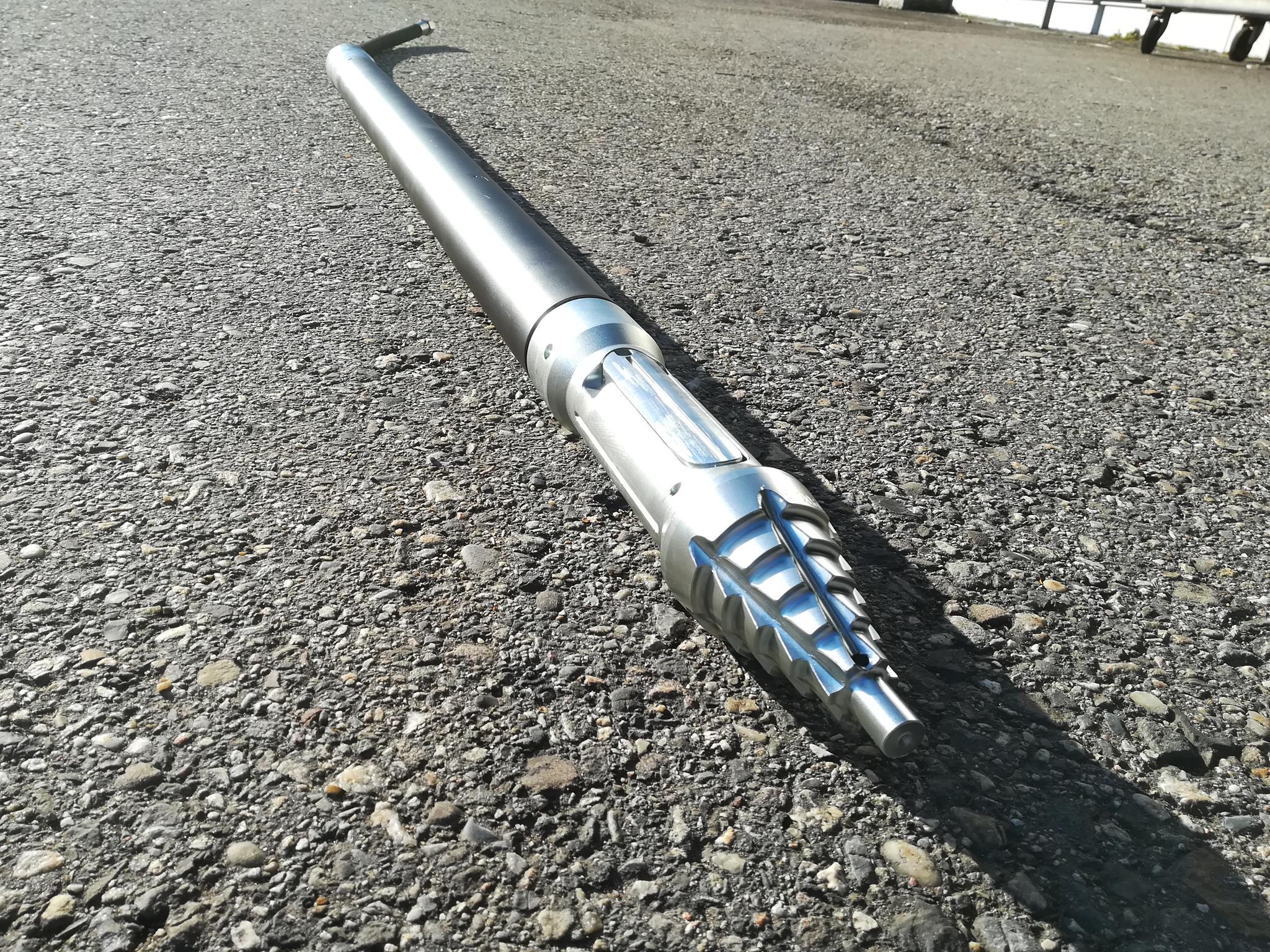 Ortung direkt im Kopf der TERRA-Erdrakete mit KOK-LD Adaptern