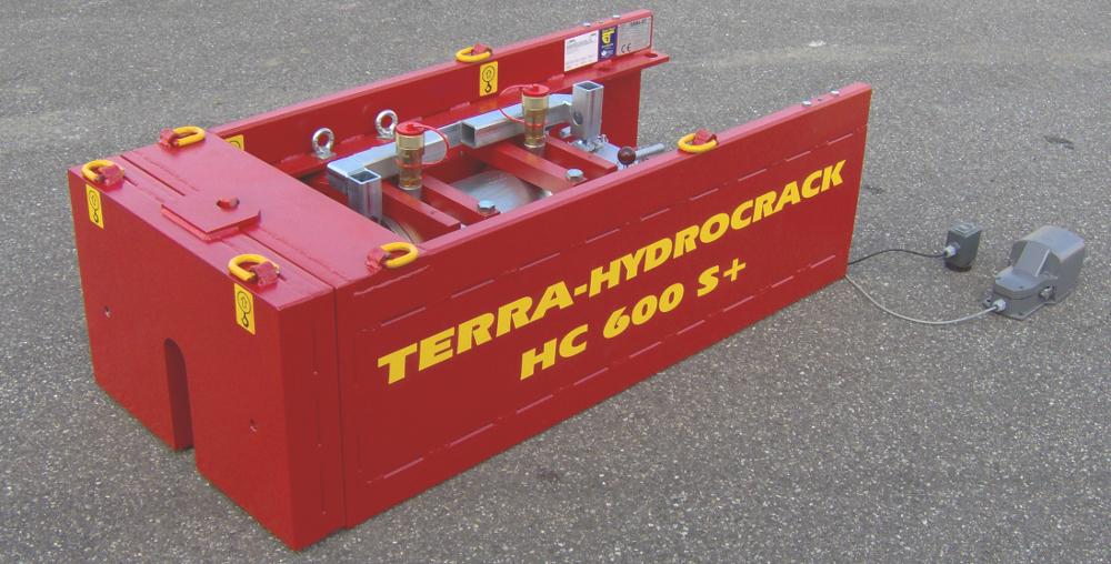 berster TERRA Hydrocrack HC 600 S für Berstlining
